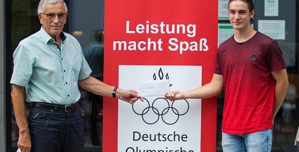 """Sportlerehrung """"Junge Könner brauchen Gönner"""" der DOG im Volksbank Atrium in Erbach, 21. August 2020, © Arndt Falter"""